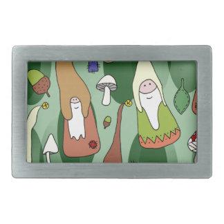 Woodland Gnomes Belt Buckle