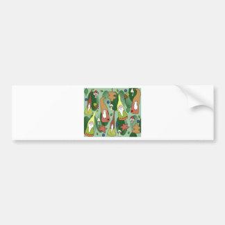 Woodland Gnomes Bumper Sticker