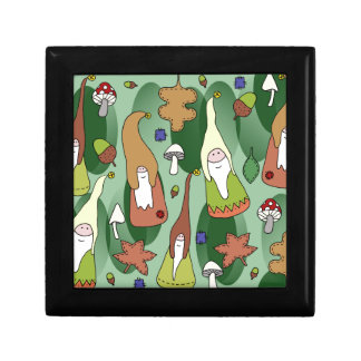 Woodland Gnomes Keepsake Box