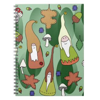 Woodland Gnomes Notebooks