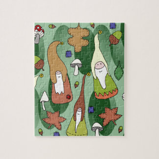 Woodland Gnomes Puzzles