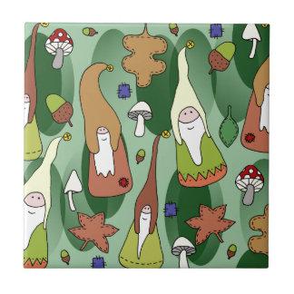 Woodland Gnomes Tile