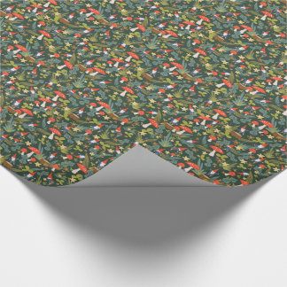 Woodland Gnomes Wrapping Paper