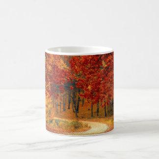 Woodland in Fall Coffee Mug
