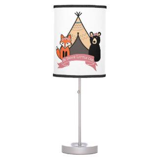 Woodland Lamp for Baby Girl/ Girls