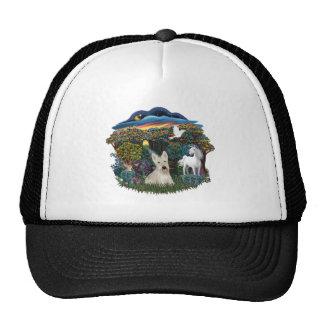 Woodland Magic - Wheaten Scottish Terrier Trucker Hat