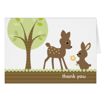 Woodland Note Cards