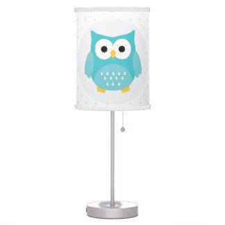 Woodland Owl Nursery Kids Room Lamp
