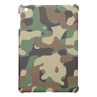 Woodland Pattern Camo iPad Mini Case