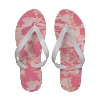 Woodland Pink Camouflage Sandals