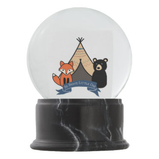Woodland Snow Globe for Baby Boy/Boy