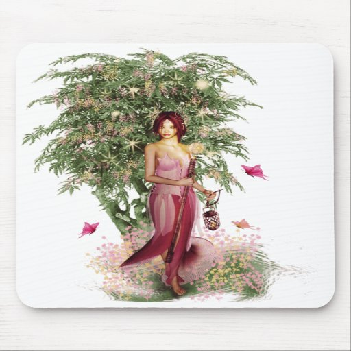Woodland Spirit Donella Mouse Pad