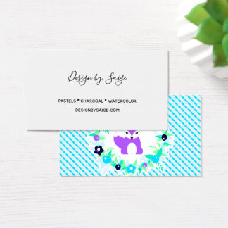 Woodland Story Business Card