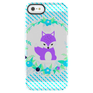 Woodland Story Clear iPhone SE/5/5s Case