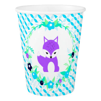 Woodland Story Paper Cup