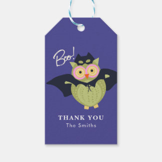 Woodland Trick or Treaters Gift Tags