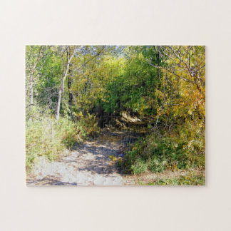 Woodland Tunnel Fall Tree View jigsaw puzzle