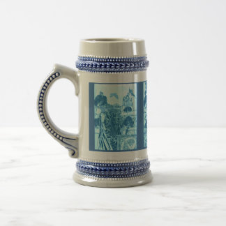 Woodland Warrior, Wizard and Woman Beer Stein