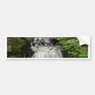 Woodland Waterfall Bumper Sticker