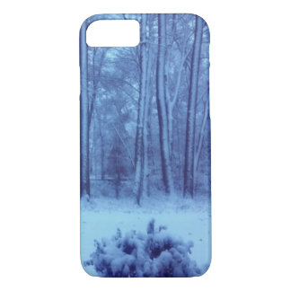 Woodland Winter Morning iPhone Case