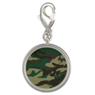 Woodlands camouflage charms