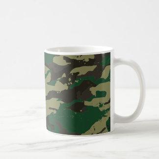 Woodlands camouflage coffee mug