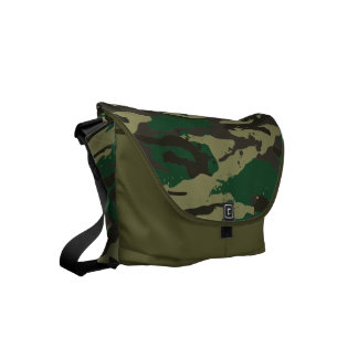 Woodlands camouflage courier bags