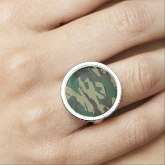 Woodlands camouflage ring