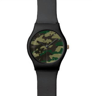 Woodlands camouflage watch