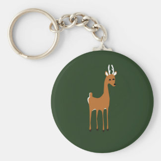 Woodlands Deer Keychain