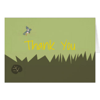 Woodlands Thank You Card