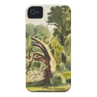 Woodman's House watercolor painting iPhone 4 Covers