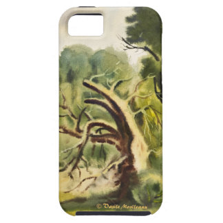 Woodman's House watercolor painting iPhone 5 Cover