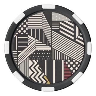 Woodpecker Ceramic Poker Chips