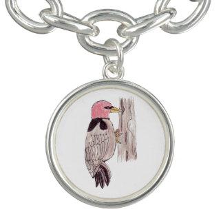 Woodpecker Charm Bracelet