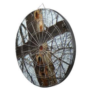 Woodpecker Holes Tree Trunk Dartboard