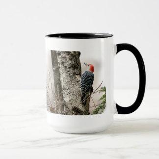 Woodpecker Large Coffee Mug