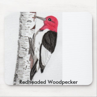 Woodpecker Mouse Pad