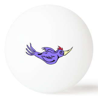 Woodpecker on the Ball