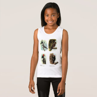 Woodpeckers Girls' Fine Jersey Tank Top