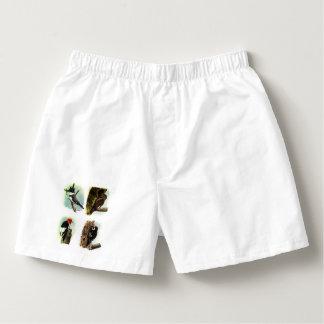 Woodpeckers Men's Cotton Boxers Underwear