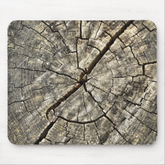 woodpile round mouse pad