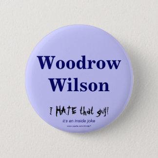 Woodrow Wilson 2 Inch Round Button