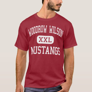 Woodrow Wilson - Mustangs - Middle - Clifton T-Shirt