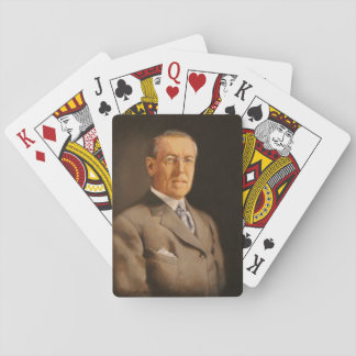 Woodrow Wilson Playing Cards