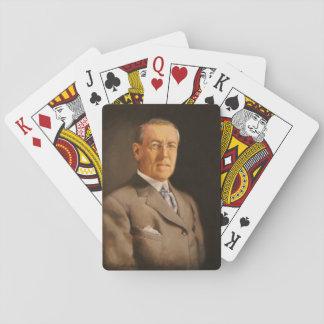 Woodrow Wilson Poker Deck