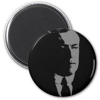 Woodrow Wilson silhouette Magnet
