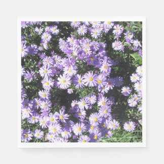 Woods Blue Fall Asters Napkin