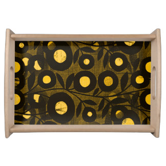 Woods Moon Flower-Reflections-Serving_Vanity Tray_ Serving Tray