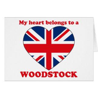 Woodstock Carte De Vœux